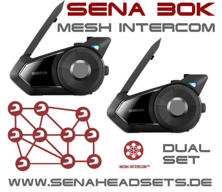 sena bluetooth stereo audio headsets mit interkom. Black Bedroom Furniture Sets. Home Design Ideas