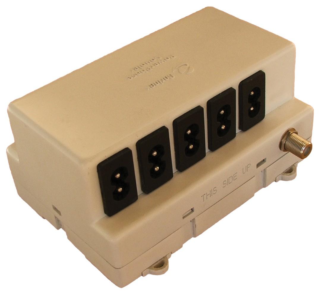 Corinex 11 + 1 kapazitiver Phasenkoppler. Speist bis zu 11 Phasen in M