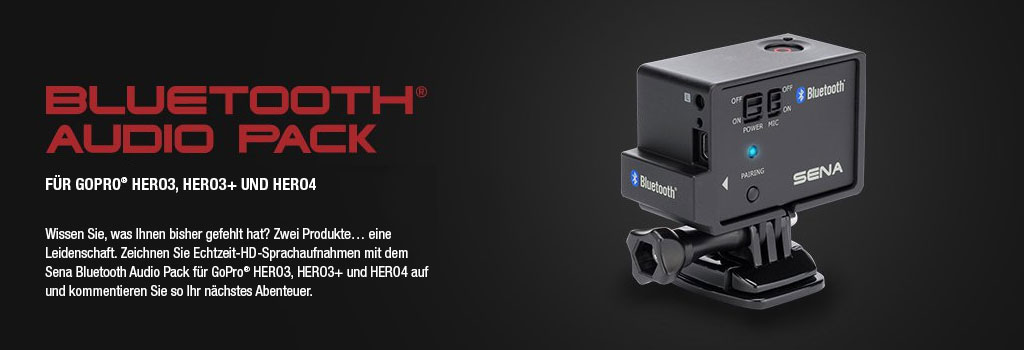 Bluetooth Pack für GoPro Kameras